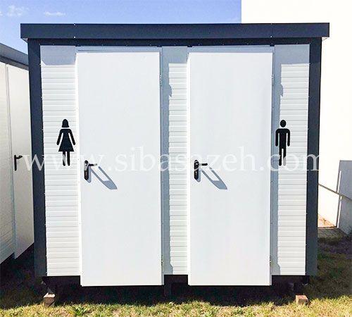 کانکس توالت سیبا سازه