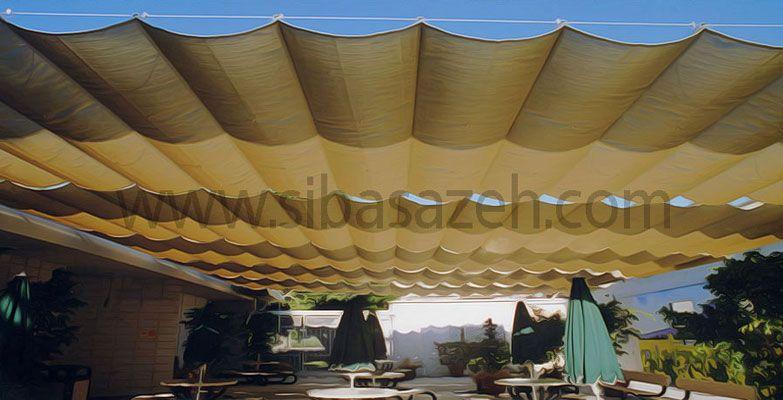 سقف چادری